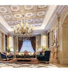 法式奢华客厅3D模型下载-[ID]34046