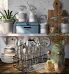 厨房调料瓶餐盘3D模型下载-[ID]44316