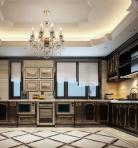 欧式风格整体家装厨房空间3D模型下载-[ID]49464