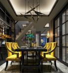 现代风格整体家装餐厅空间3D模型下载-[ID]49387