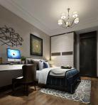 现代风格整体家装卧室空间儿童房3D模型下载-[ID]49796