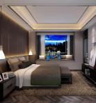 现代风格整体家装卧室空间主卧室3D模型下载-[ID]49694