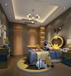 轻奢儿童房空间3D模型下载-[ID]50120