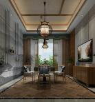 新中式风格整体家装休闲娱乐棋牌室3D模型下载-[ID]50413