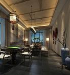 新中式风格整体家装休闲娱乐茶室3D模型下载-[ID]50483