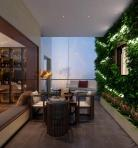 新中式风格整体家装休闲娱乐茶室3D模型下载-[ID]50486