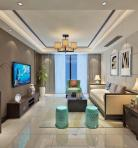 中式风格客厅空间3D模型下载-[ID]34976