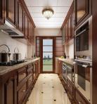 美式厨房橱柜餐具3D模型下载-[ID]42417
