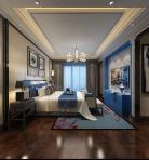 现代整体家装卧室空间3D模型下载-[ID]43766