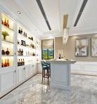 欧式整体家装餐厅空间3D模型下载-[ID]55247