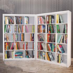 现代书架货架组合3d模型