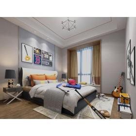 现代风格儿童房 (3)3d模型