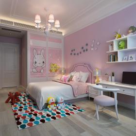 现代风格儿童房 (9)3d模型