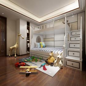 现代风格儿童房 (10)3d模型