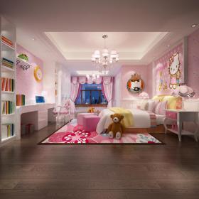 现代风格儿童房 (13)3d模型