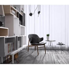休闲沙发边柜书柜装饰组合3d模型
