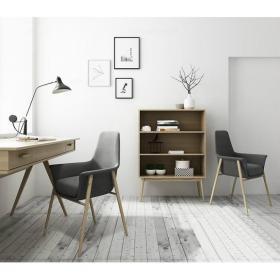 北欧柜子单椅组合3d模型