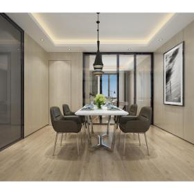 现代风格餐厅 (6)3d模型