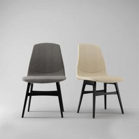现代竹编单椅吊灯3d模型