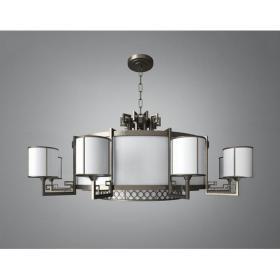 现代各种玻璃彩色组合吊灯3d模型