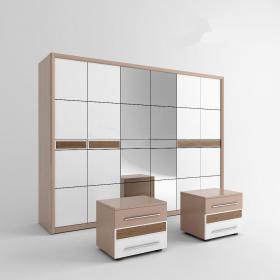 欧式奢华描金衣柜3d模型