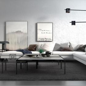 北欧转角沙发3d模型