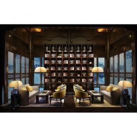 欧式温馨舒适书房 (5)3d模型