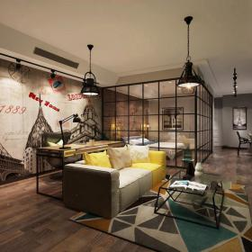 现代简洁大气有格调的客厅583d模型