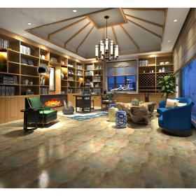 现代温馨舒适的书房 (2)3d模型